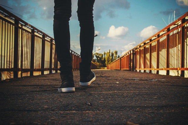 Den Weg gehen mit der nötigen Portion Selbstsicherheit