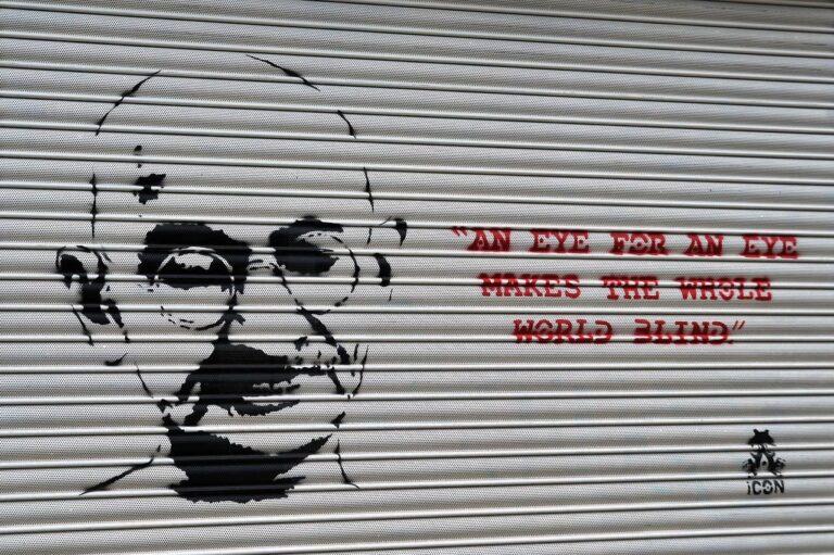Gandhi Quotemonday Veränderung