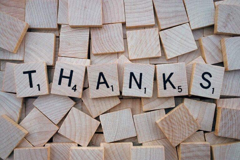 Zehn Dinge für die du dankbar sein kannst - 10ThingsThursday