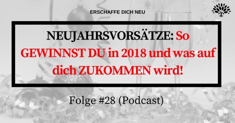 Folge 28 Neujahrsvorsätze